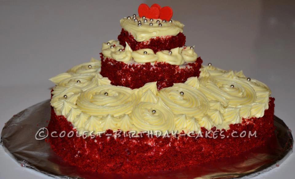 Cool Red Velvet Cake