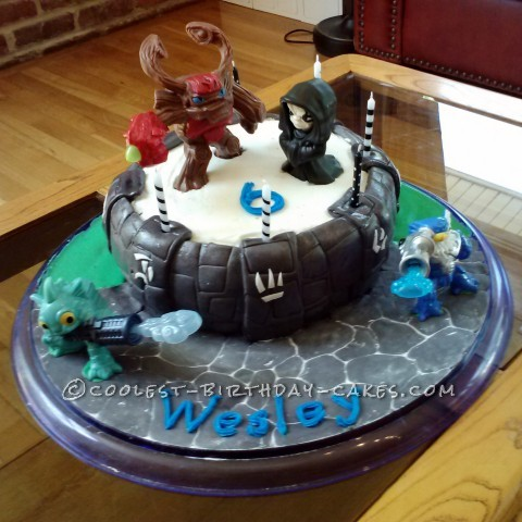 Coolest Skylanders Giants Birthday Cake