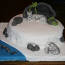 Coolest Snow Leopard Birthday Cake