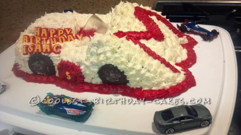 Coolest Speed Racer Cake