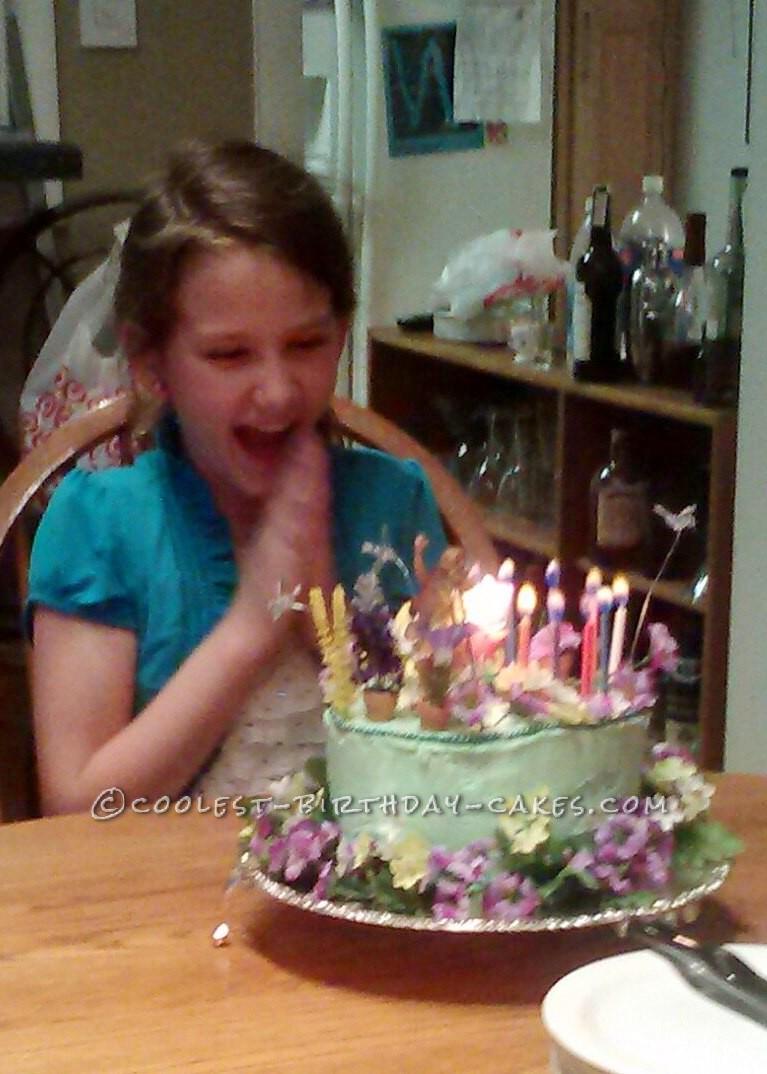 Coolest Fairy Garden Cake