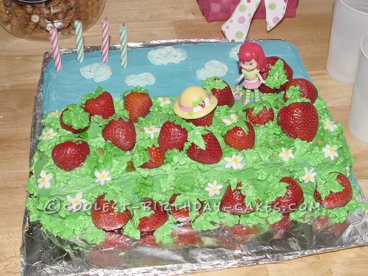 Sweetest Strawberry Shortcake Cake