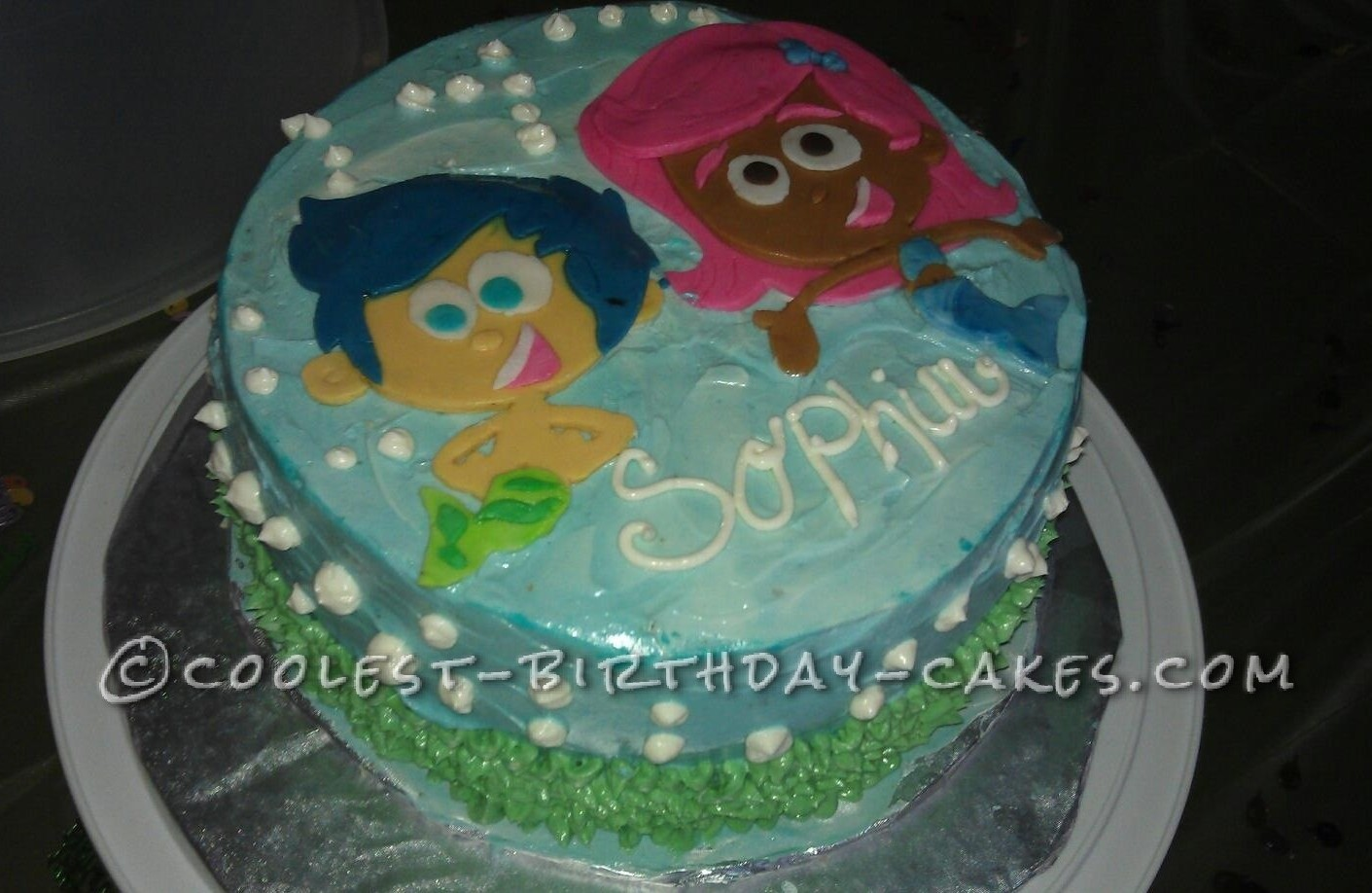 Coolest Bubble Guppies Cake For A 3 Year Old Girl