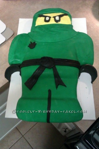 Coolest Ninjago Birthday Cake