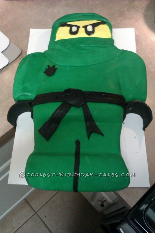 Coolest Ninjago Birthday Cake