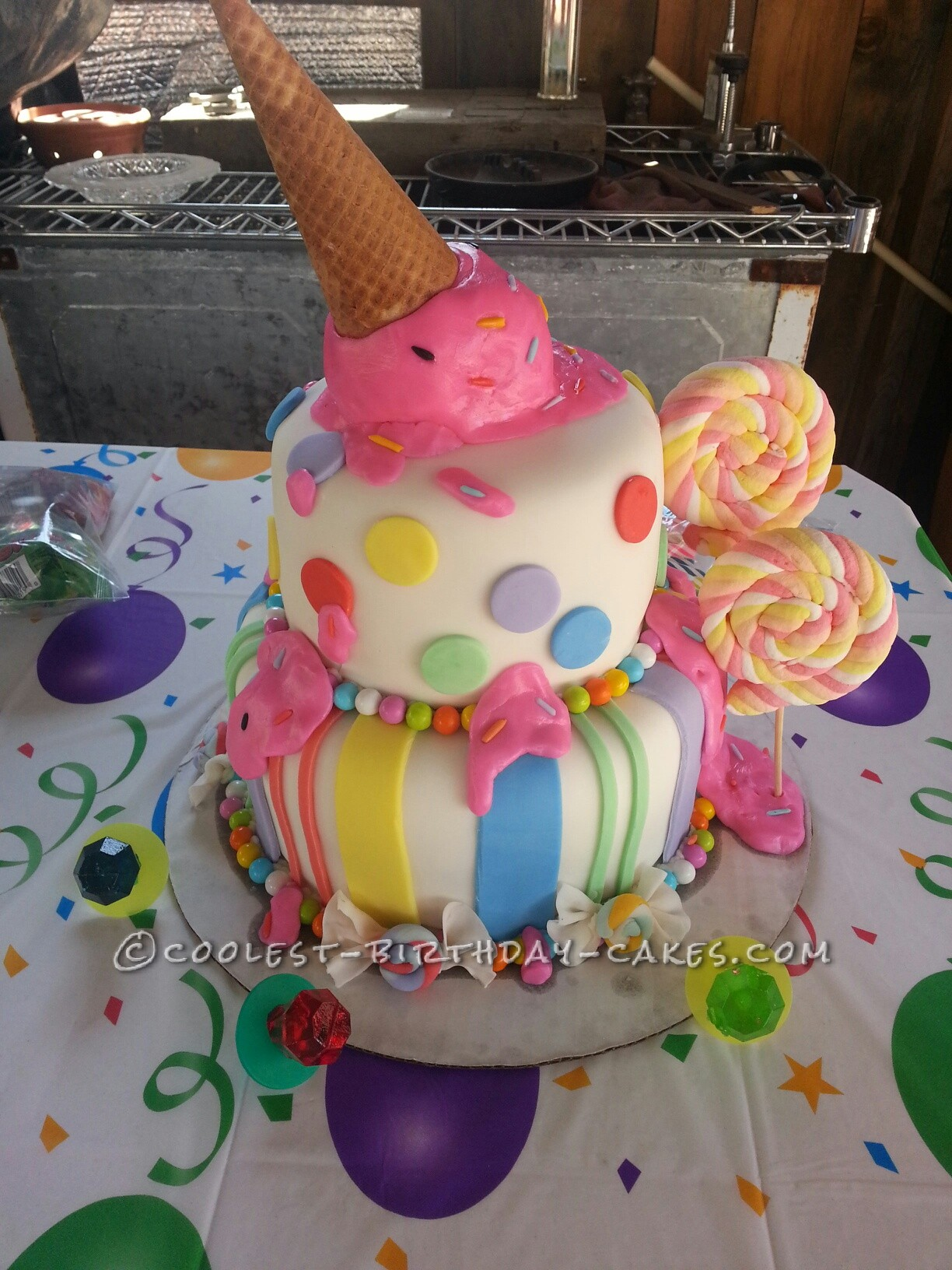 Messy Sweet Tooth Cake