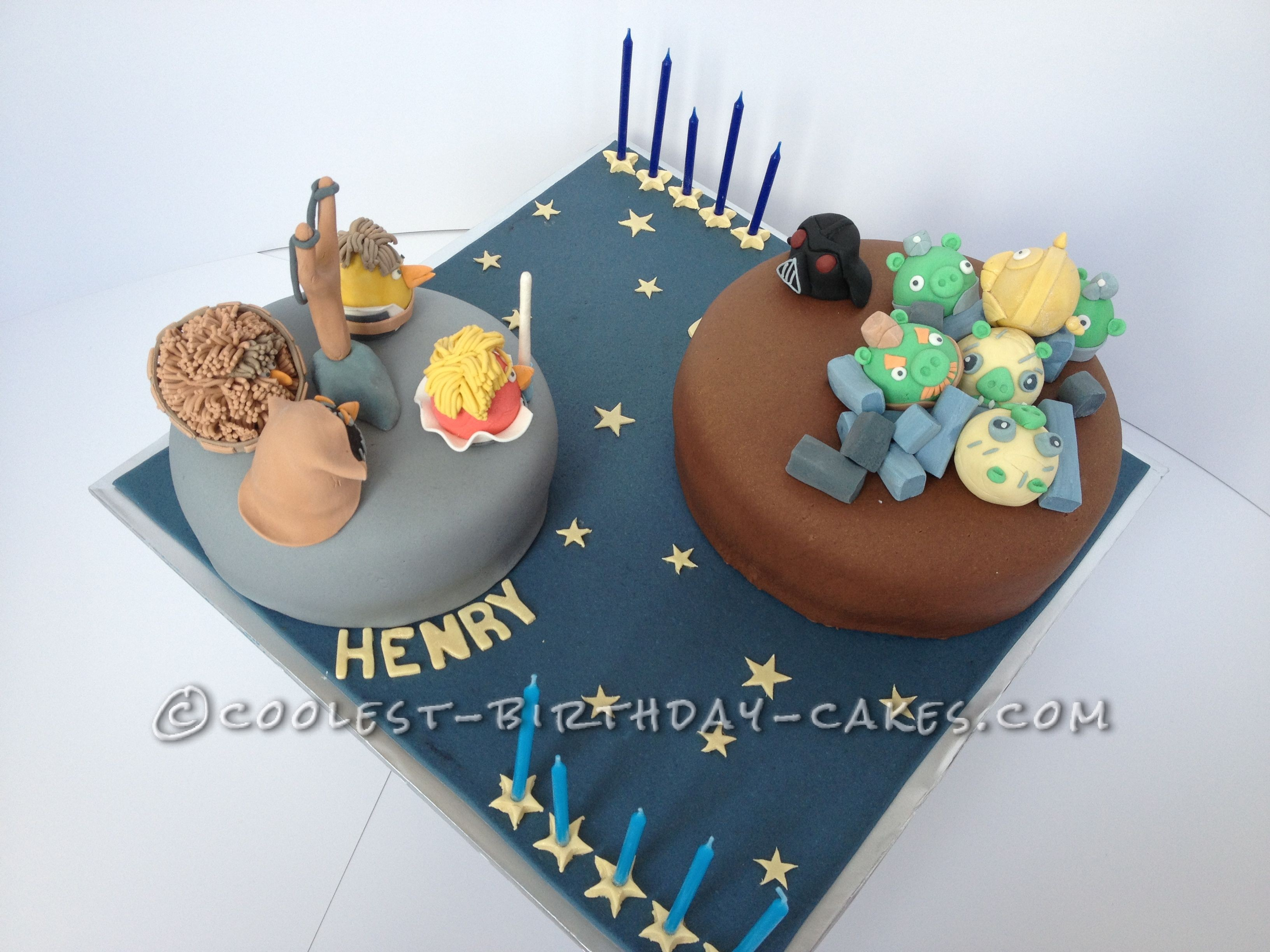 Coolest Angry Birds Star Wars Cake