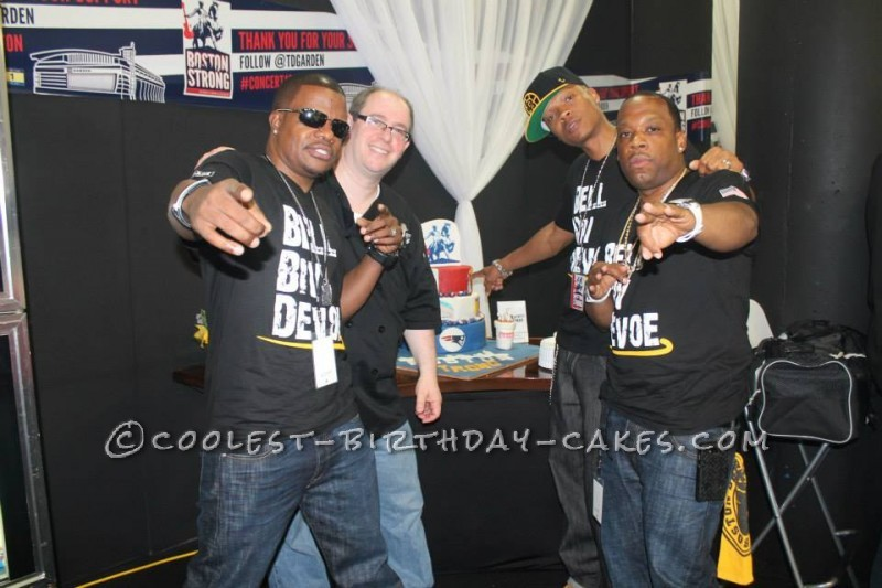 Boston Strong Benefit Concert Cake