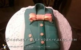 Coolest Bow Tie Shirt Cake