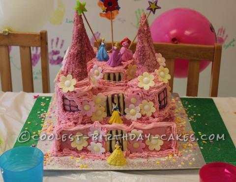 Coolest Castle Birthday Cake