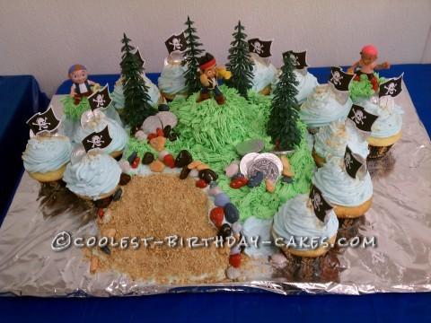 Cool Jake and the Neverland Pirates Birthday Cake