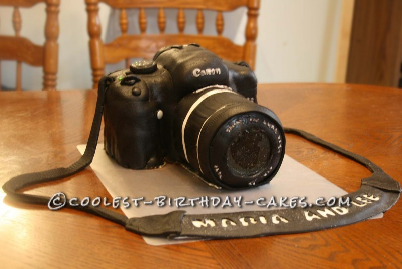 Camera Cake Front