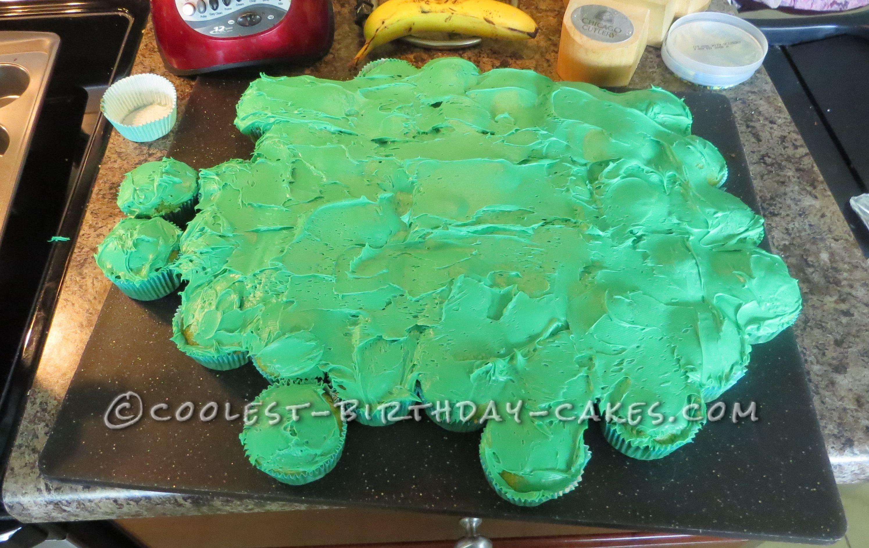 Coolest Dinosaur Cake