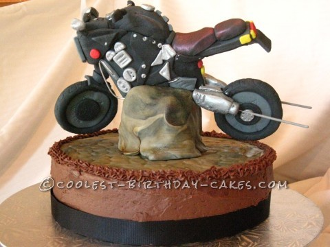Motorcycle Cake - Coolest Birthday Cake Images