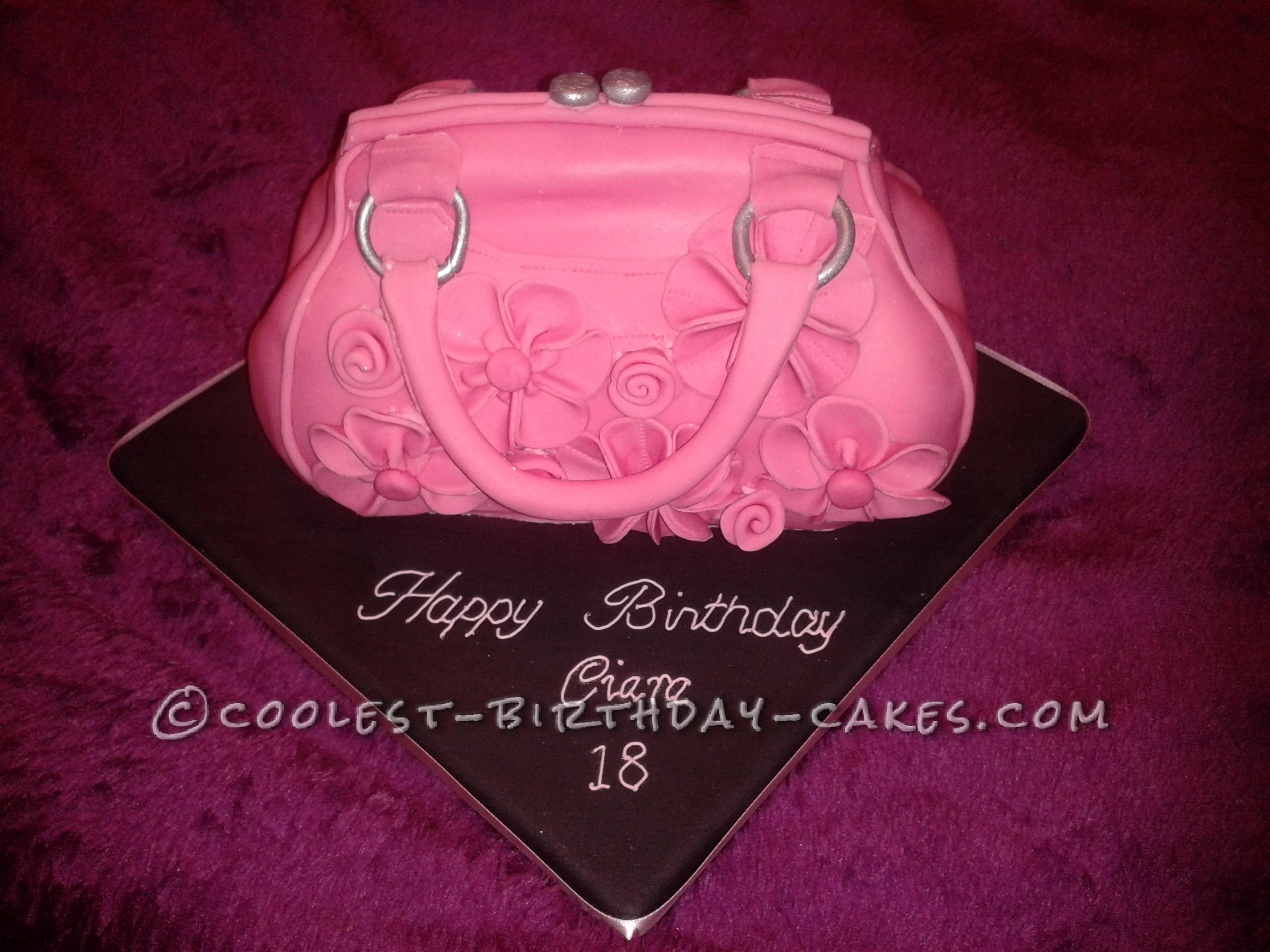Coolest Pink Handbag Cake