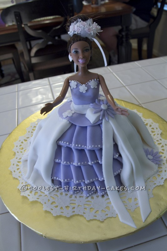 Coolest Princess Barbie Cake
