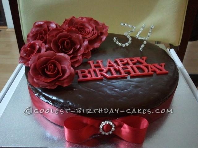 Coolest Rose Cake