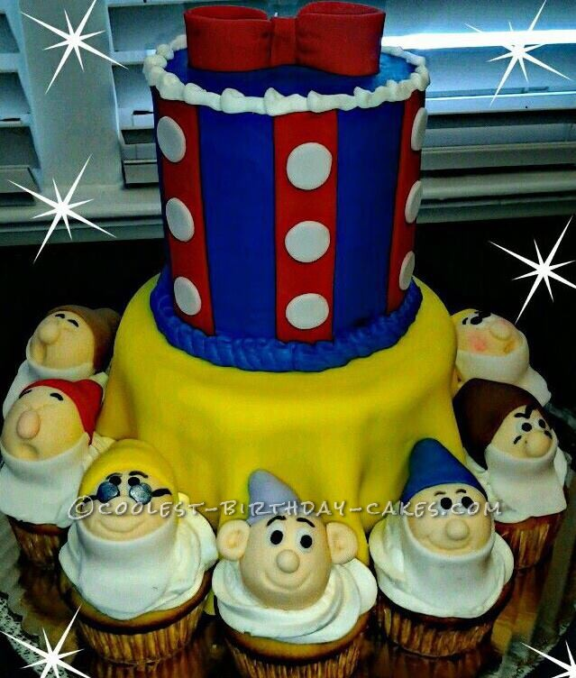 Coolest Snow White Father's Day Cake