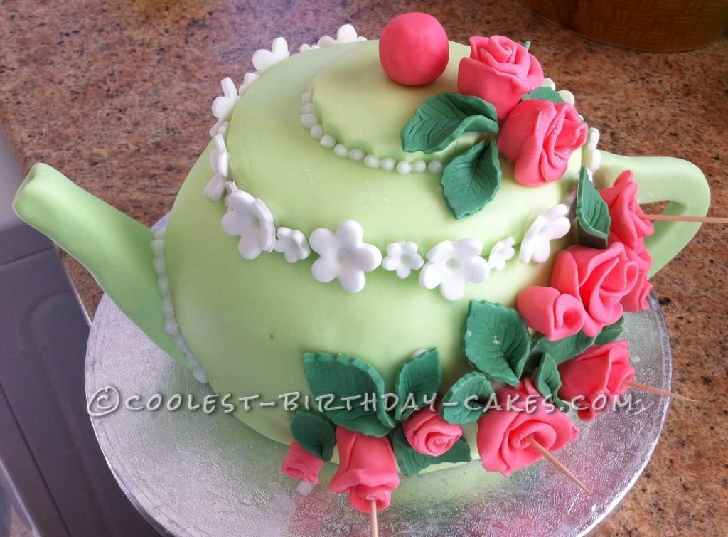 Coolest Teapot Cake
