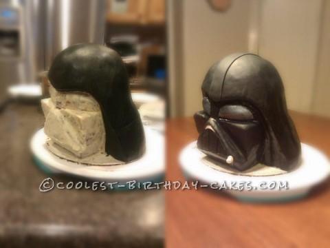 Coolest Darth Vader Helmet Cake