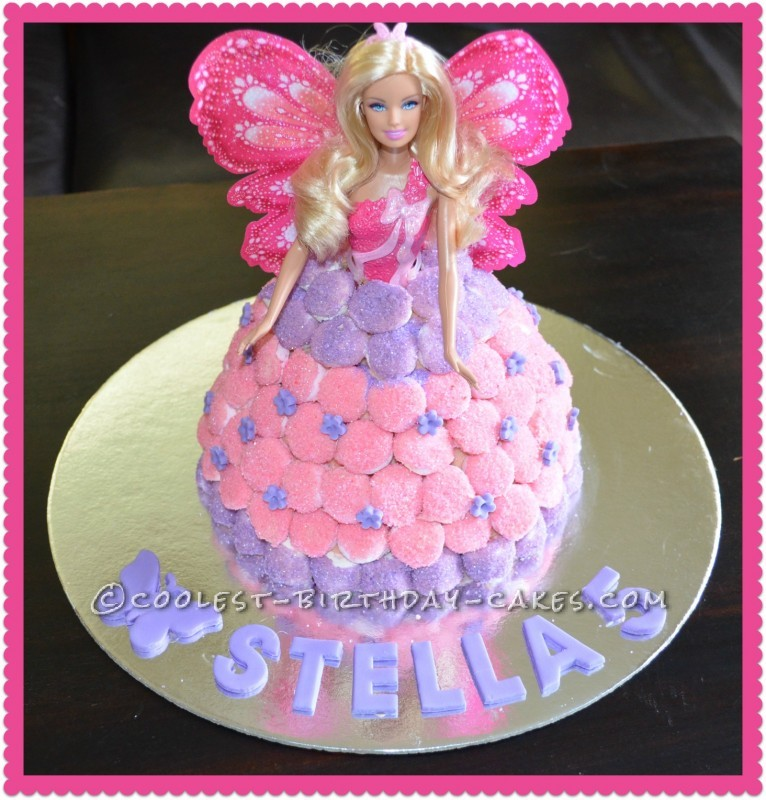 Coolest Dolly Varden Birthday Cake