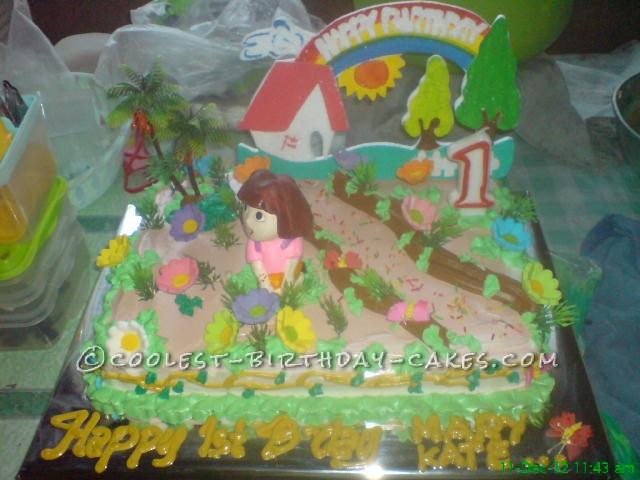Doras Garden Cake