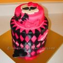 Coolest Draculaura Monster High Birthday Cake