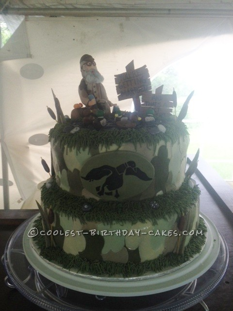 duck dynasty inspired fondant characters cake toppers shannonjames