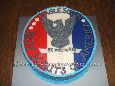 Coolest Eagle Scout Cake