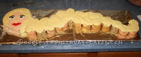 Coolest Rapunzel Cake