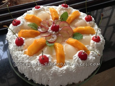 Pin Fruit Creamy Cake My Wallpapers Hd Cake on Pinterest