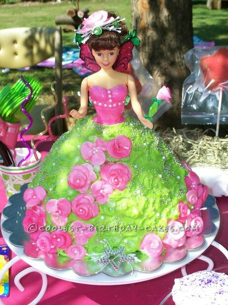 Coolest Garden Fairy Cake