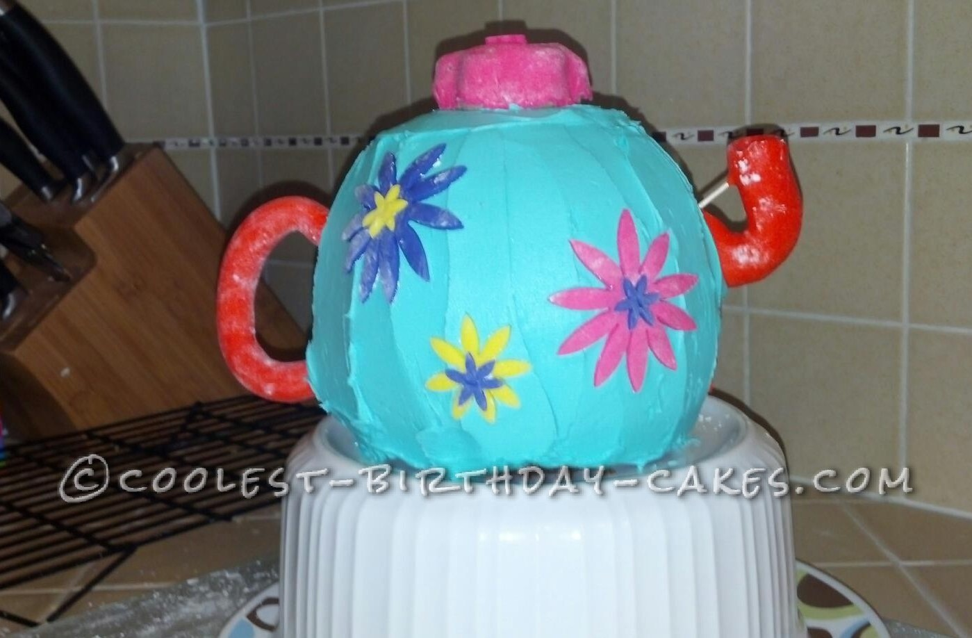 Coolest Garden Tea Party Cake