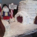 Cool North Pole Igloo Cake
