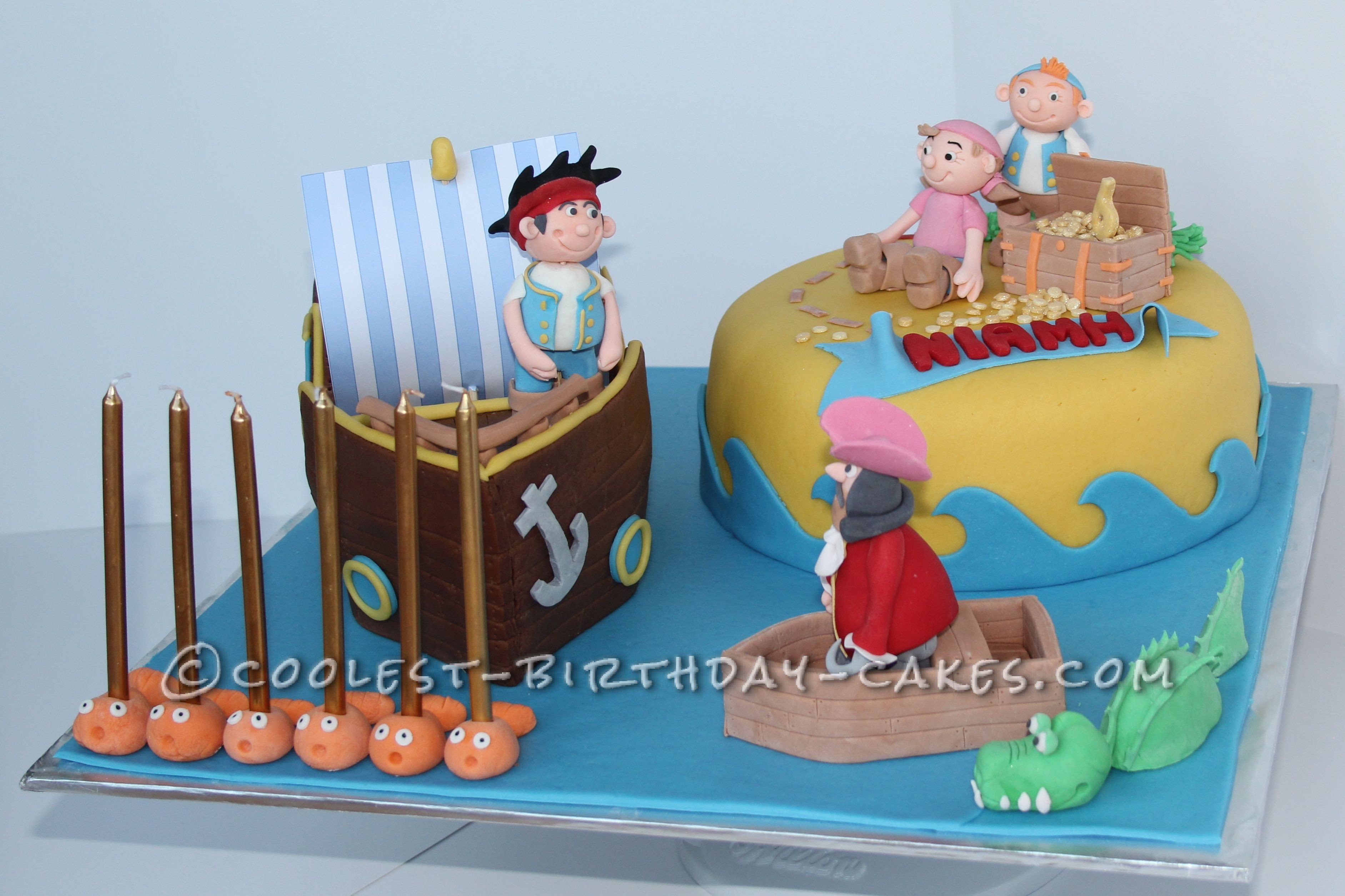 Coolest Jake and The Neverland Pirates Cake