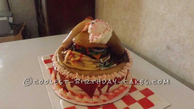 Coolest Junk Food Birthday Cake