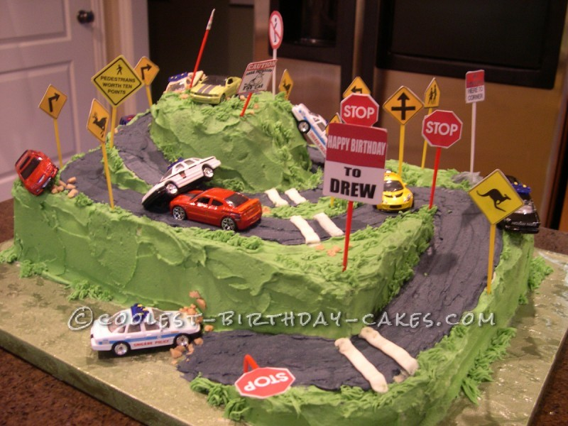 Learner's Permit Birthday Cake
