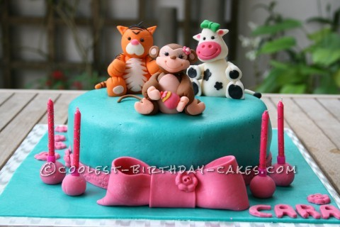 Little Animals Birthday Cake