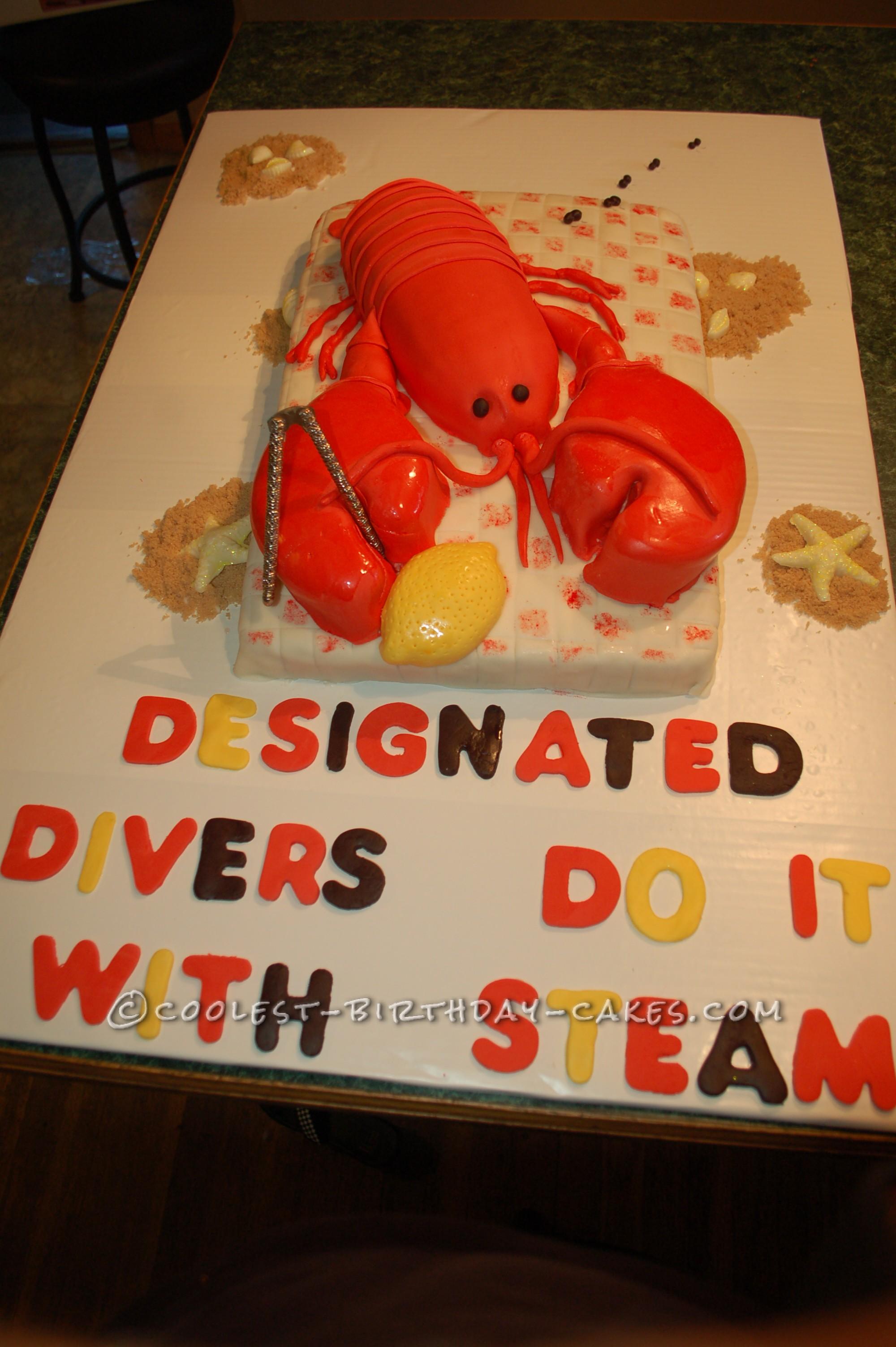 Coolest Lobster Cake Bake