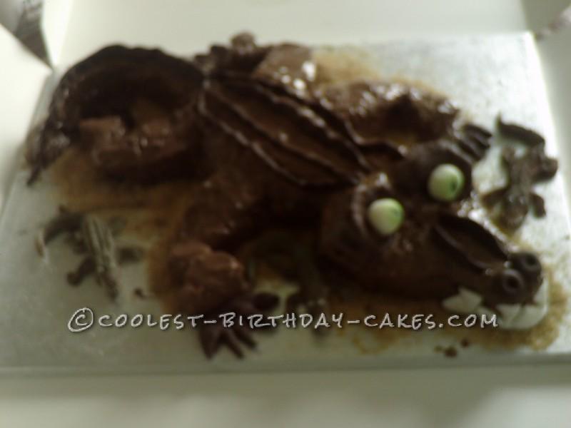 Coolest Crocodile Birthday Cake