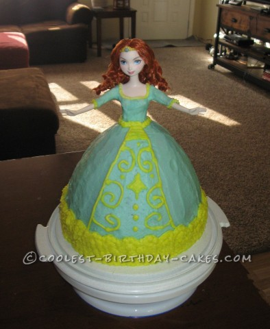 Coolest Merida From Brave Birthday Cake