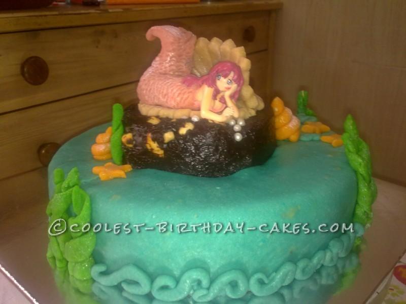Coolest Little Mermaid Cake