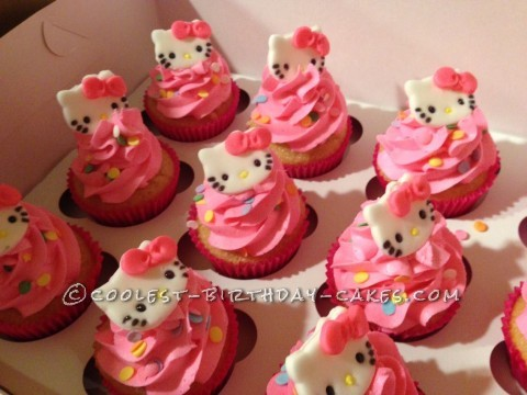 Most Beautiful Hello Kitty Cupcakes