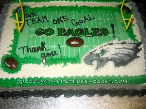 One Team One Goal, Go Eagles Cake