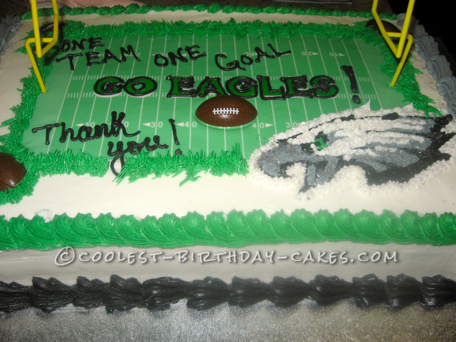 One Team One Goal, Go Eagles Cake