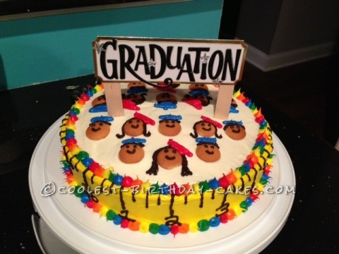 Coolest Preschool Graduation Cake