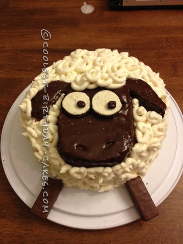 Incredible Coolest Homemade Shaun The Sheep Cakes Funny Birthday Cards Online Benoljebrpdamsfinfo