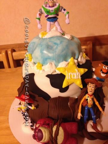 Coolest Toy Story Birthday Cake