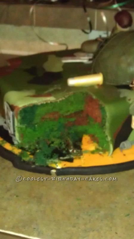 The Zombies are Coming Cake
