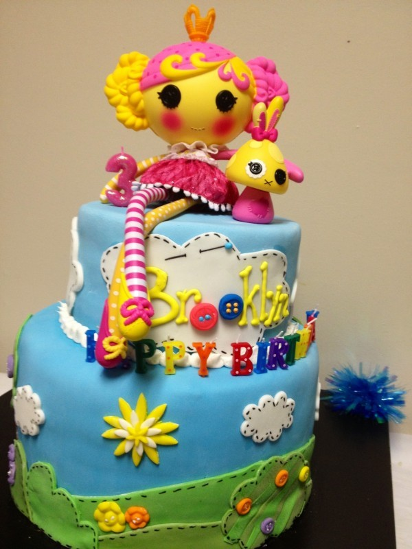 Brooklyn's Cool Lalaloopsy Cake